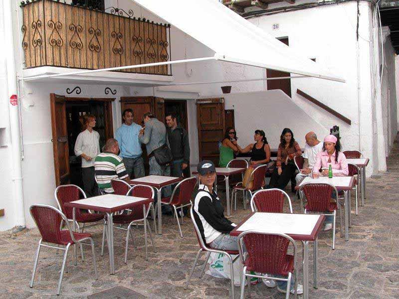 Casaviva Ibiza Inmobiliaria: Restaurante en la parte historica de Ibiza.