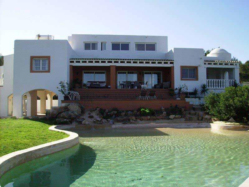 Casaviva Ibiza Inmobiliaria: Casa con bonitas vistas al mar en Cala Bassa - San Jos�.