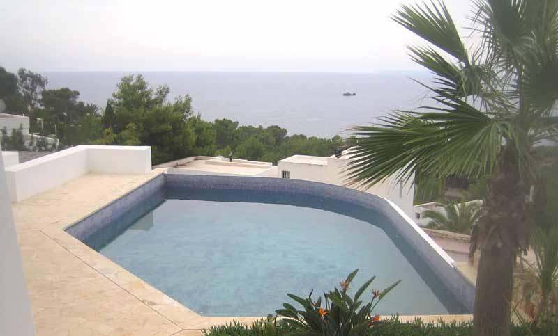 Casaviva Ibiza Inmobiliaria: Casa nueva con increibles vistas al mar en Roca Llisa - Santa Eulalia.