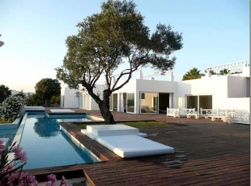 Casaviva Ibiza Inmobiliaria: Villa minimalista con maravillosas vistas al mar en Salinas - San  Jos�.