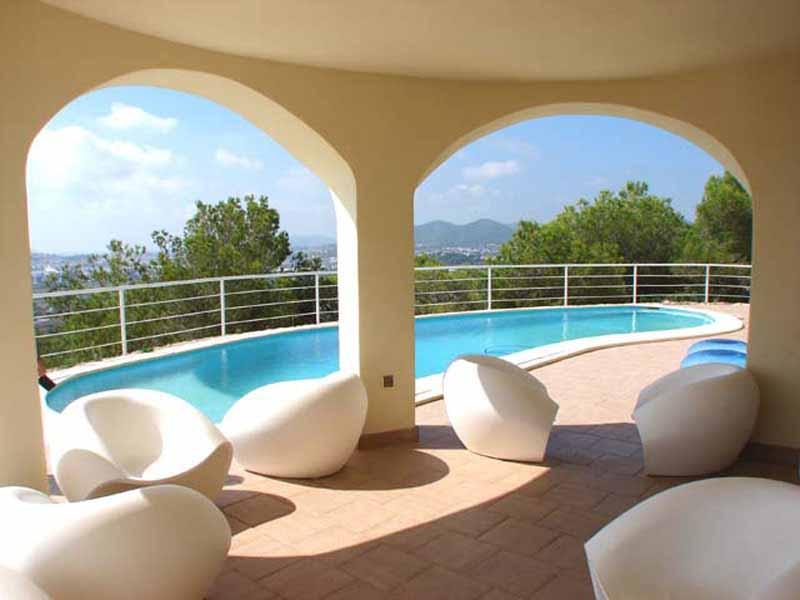 Casaviva Ibiza Inmobiliaria: Casa con impresionantes vistas al mar en Jes�s - Ibiza.